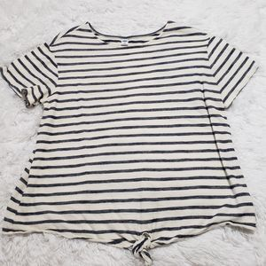 Old Navy front tie Blouse XL